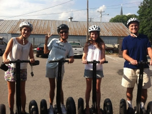 Boomers and Teens Hit the Segways!