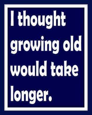 growing old poster